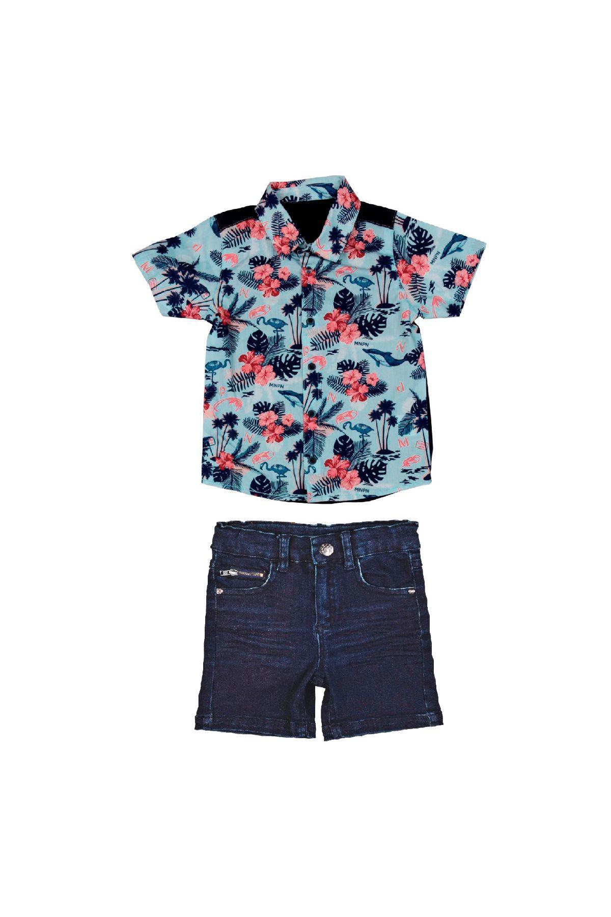 Bebepan 3908 ТЕМНО-СИНИЙ Детский костюм для мальчиков