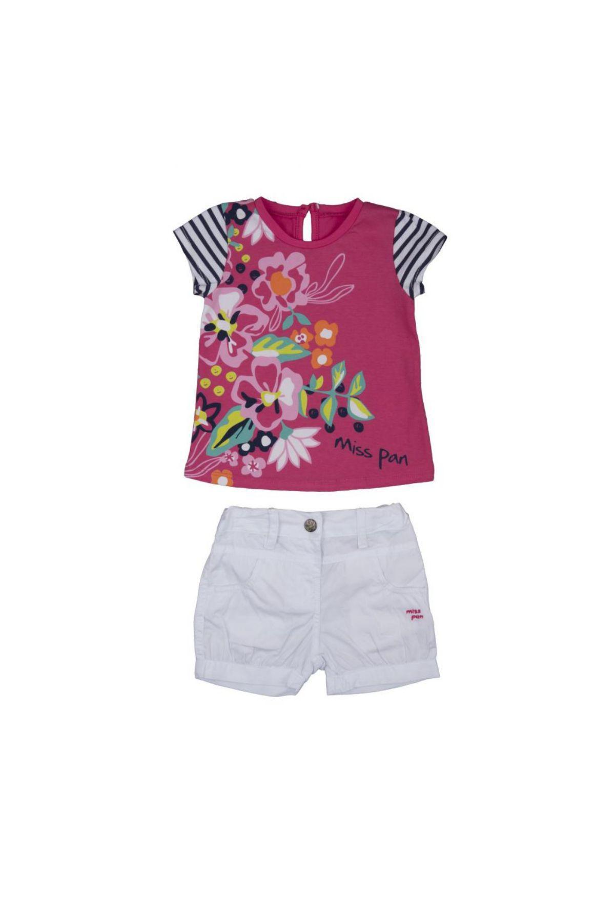 Bebepan 3113 ФУКСИЯ Детский костюм для девочек