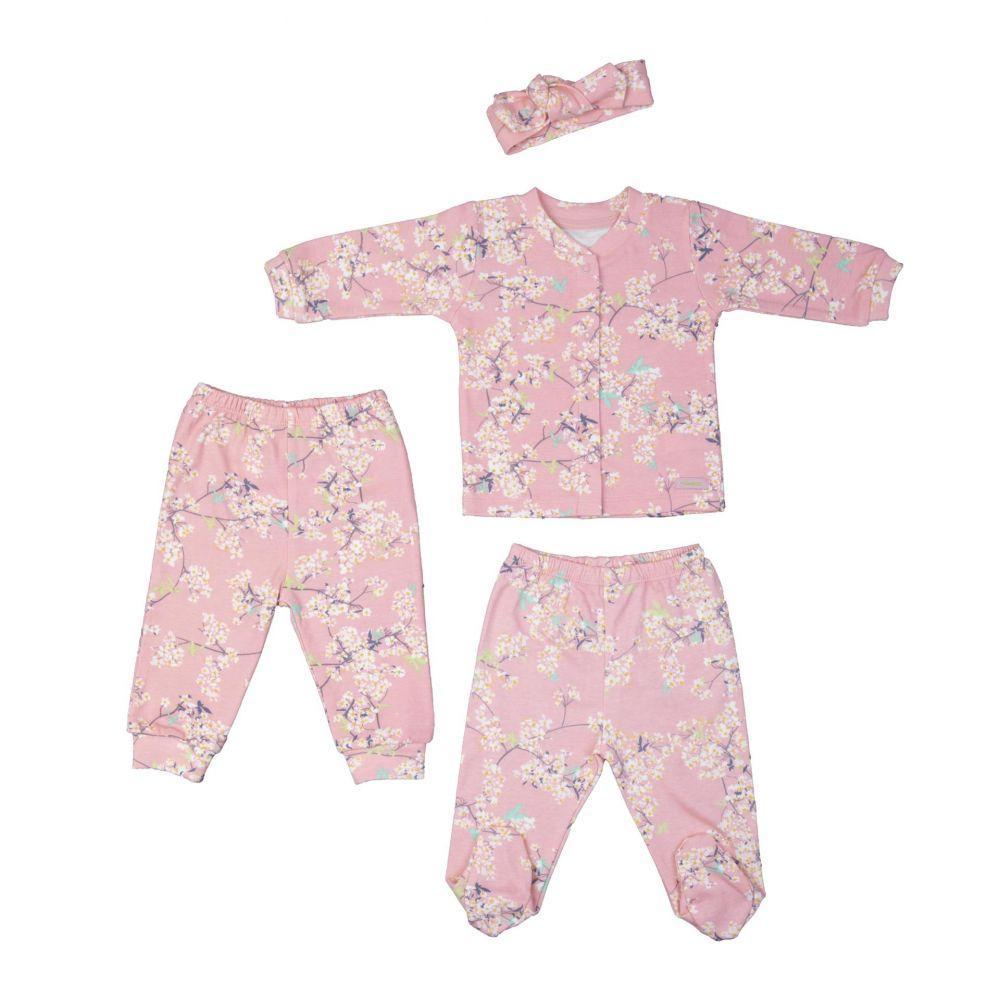 Bebepan 2085 РОЗОВЫЙ Детский костюм для девочек