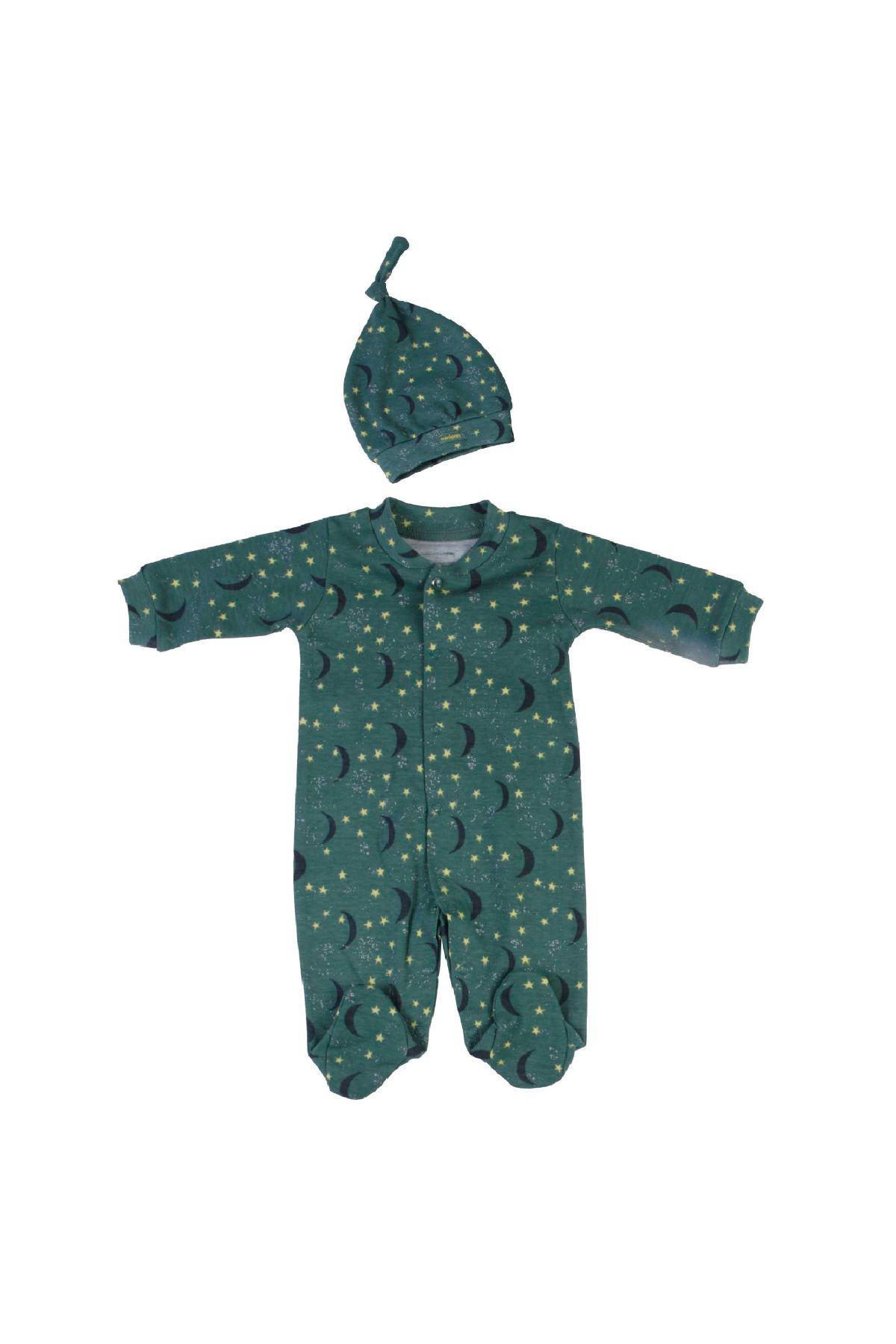 Bebepan 2012 ЗЕЛЕНЫЙ Детский комбинезон для младенцев