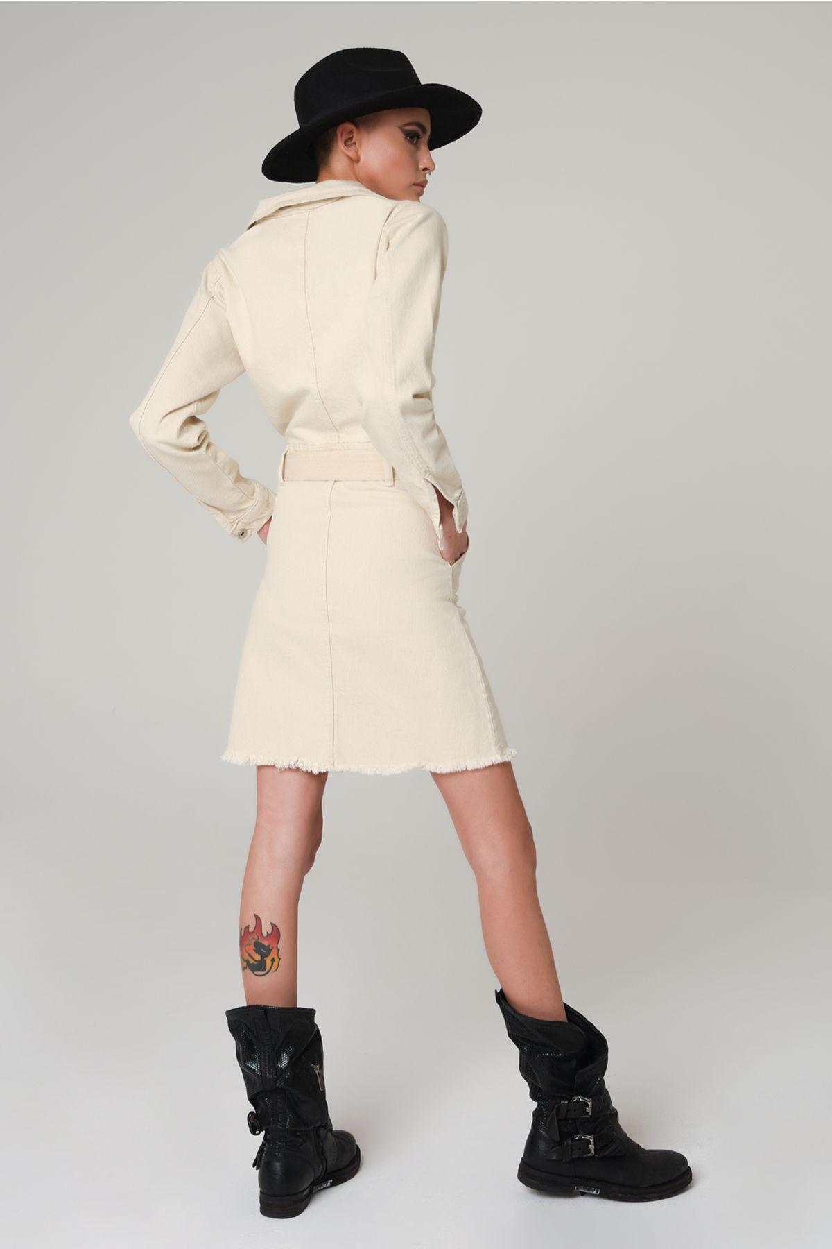 Ketzz 5023 КРЕМОВЫЙ Женское Платье