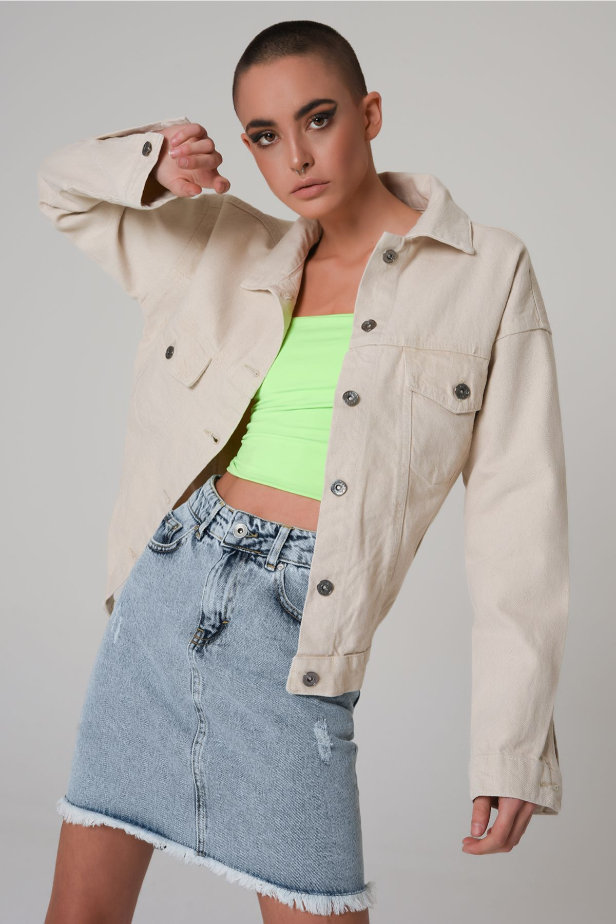 Ketzz 3005 КРЕМОВЫЙ Женская Куртка
