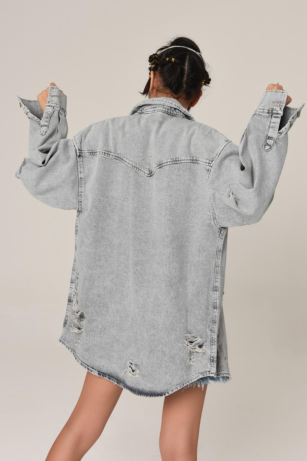 Ketzz 6002 СЕРЫЙ Женская Куртка
