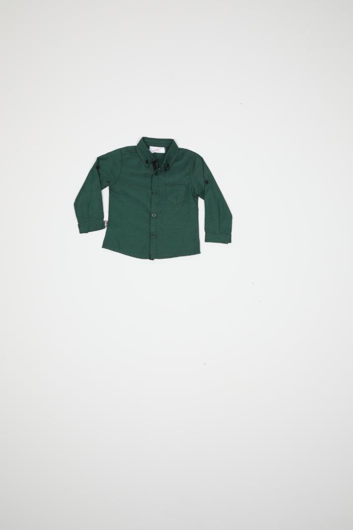 Maia Kids 9892 ЗЕЛЕНЫЙ Детская рубашка