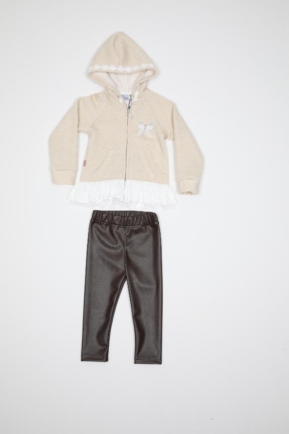 Maia Kids 10209 БЕЖЕВЫЙ Детский костюм для девочек
