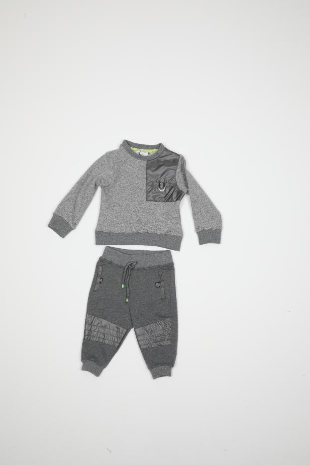Maia Kids 10245 СЕРЫЙ Детский костюм для мальчиков