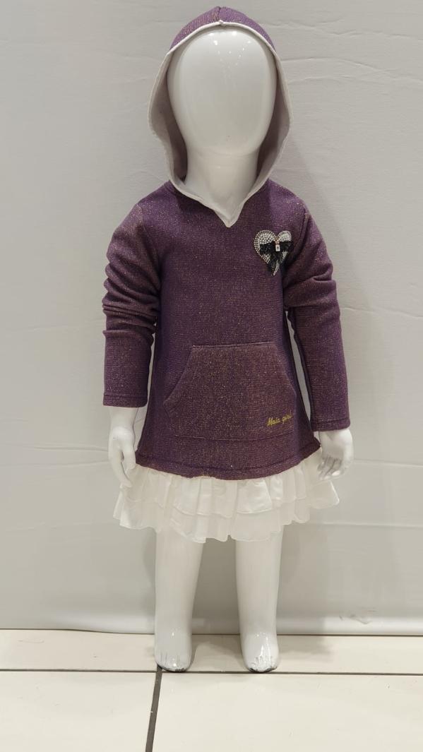 Maia Kids 10207 ФИОЛЕТОВЫЙ Платье Для Девочек