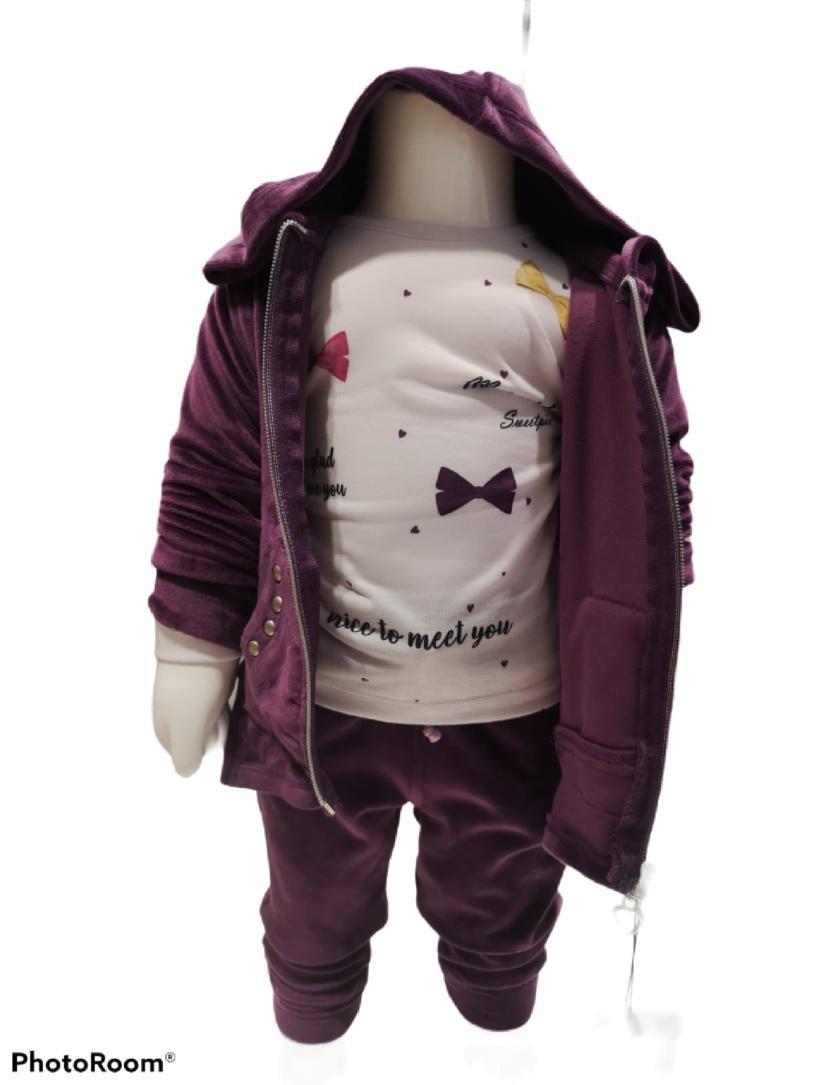Maia Kids 10213 ФИОЛЕТОВЫЙ Детский костюм для девочек