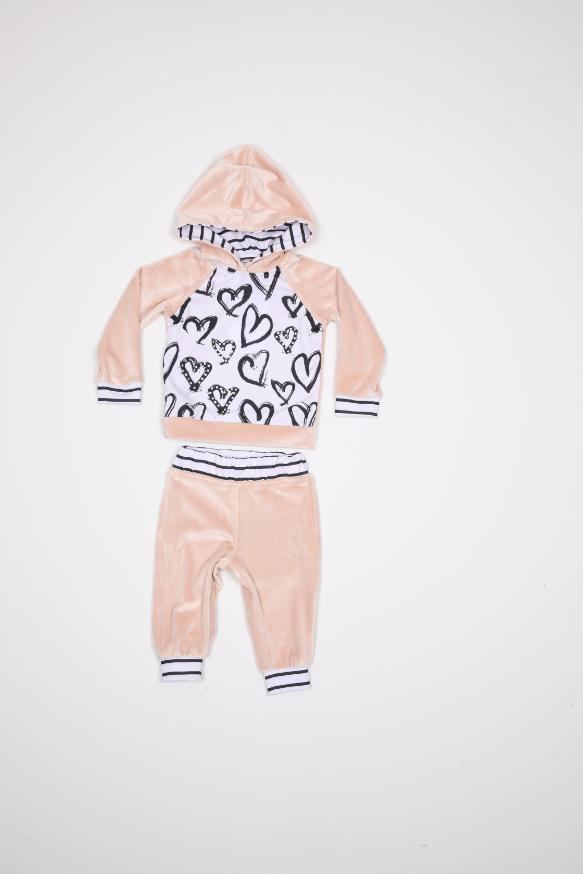 Maia Kids 10281 ЛОСОСЕВЫЙ Детский костюм для девочек