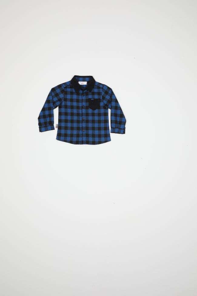 Maia Kids 9890 ЭЛЕКТРИК Детская рубашка