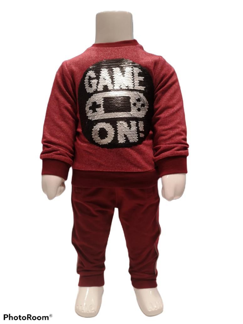 Maia Kids 10252 БОРДОВЫЙ Детский костюм для мальчиков