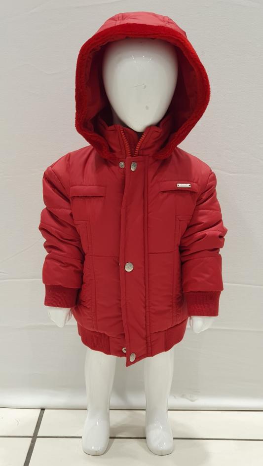Maia Kids 9666 КРАСНЫЙ Детские куртки для мальчиков