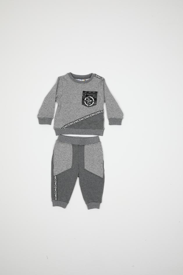 Maia Kids 10319 СЕРЫЙ Детский костюм для мальчиков