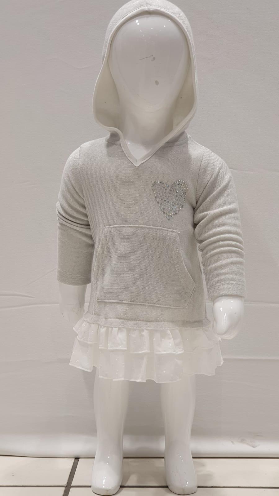 Maia Kids 10206 СЕРЫЙ Платье Для Девочек