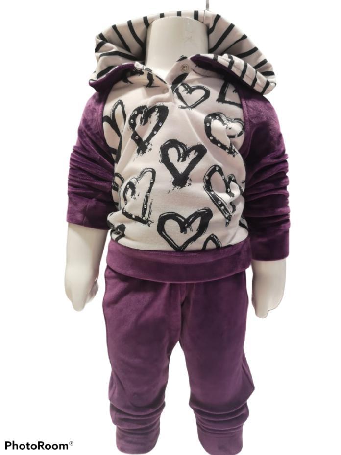 Maia Kids 10281 ФИОЛЕТОВЫЙ Детский костюм для девочек