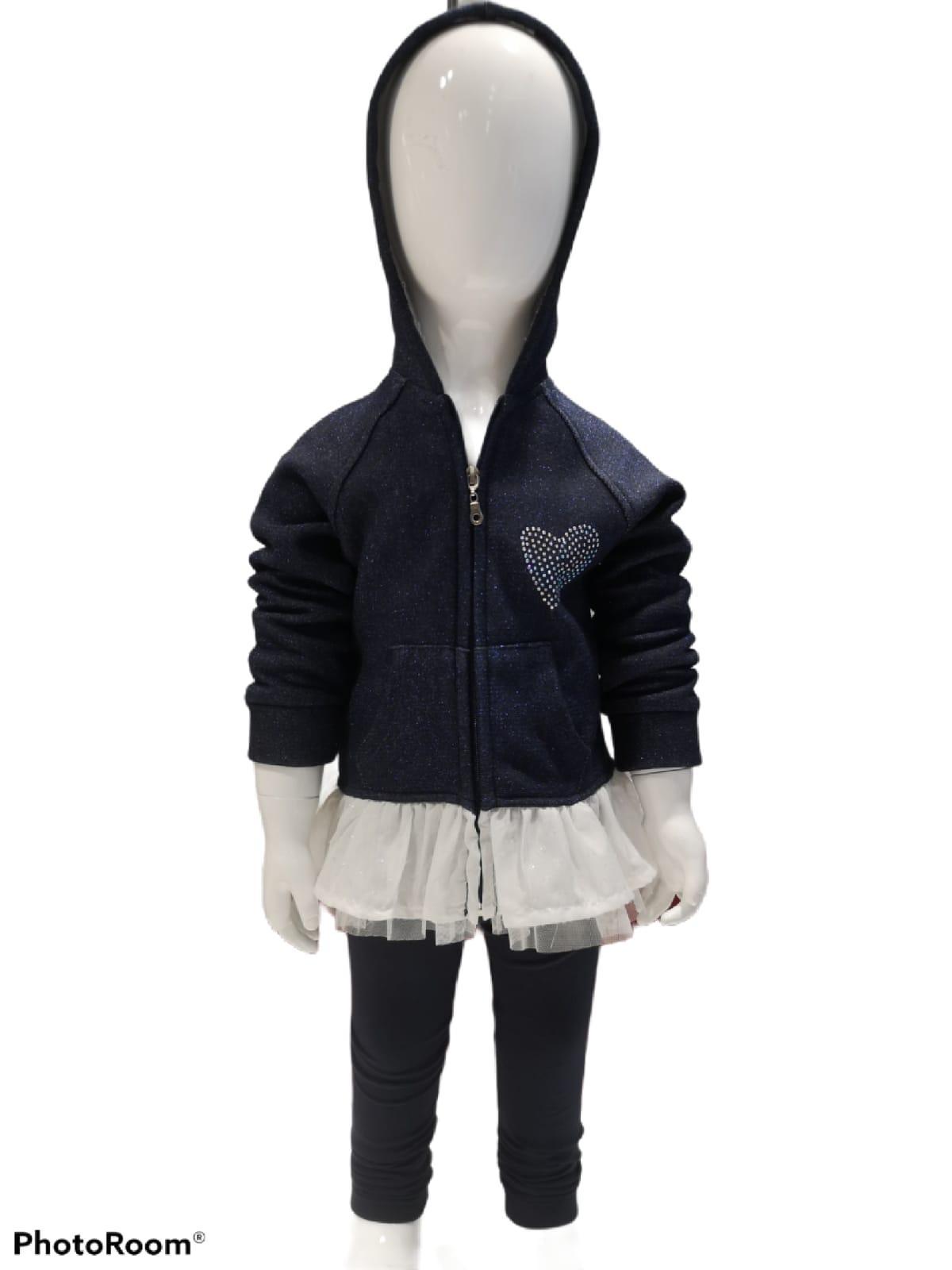 Maia Kids 10209 ТЕМНО-СИНИЙ Детский костюм для девочек