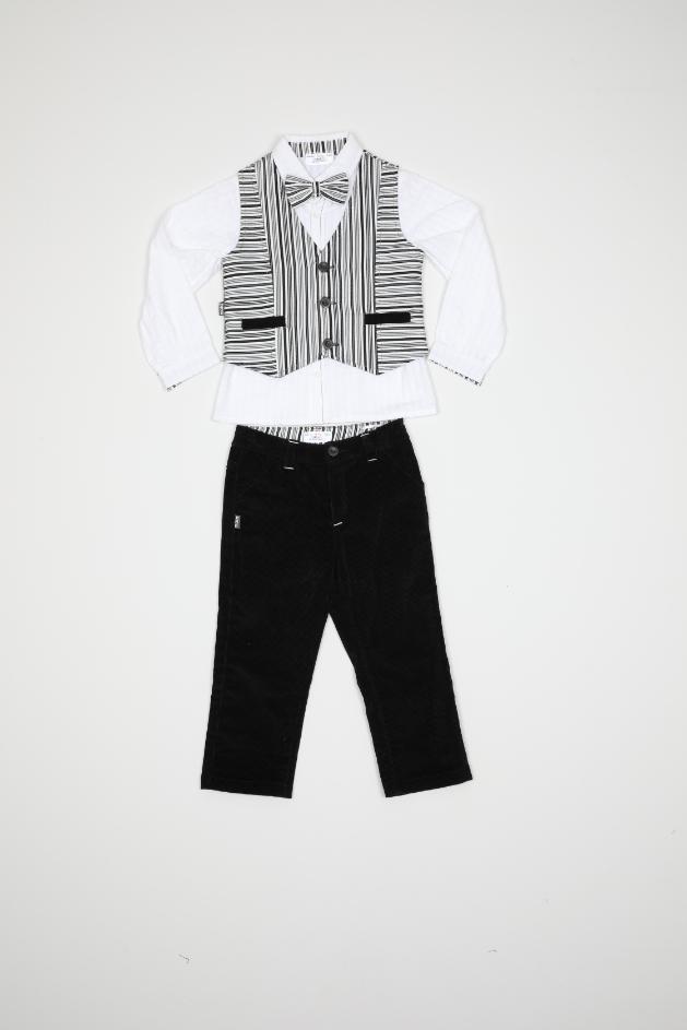 Maia Kids 9379 ЧЕРНЫЙ Детский костюм для мальчиков