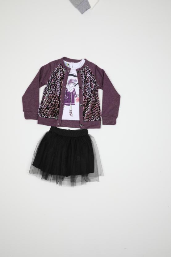 Maia Kids 10326 ФИОЛЕТОВЫЙ Детский костюм для девочек
